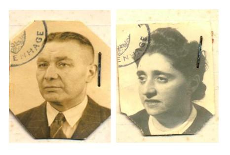 Joseph Aron Zendijk en Regina Elisabeth Zendijk-Frank