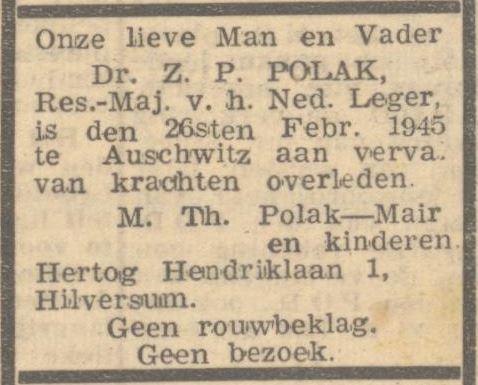 Zeno Paul Polak