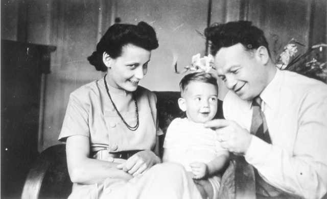 Simon, Gerta en Lotte Blein